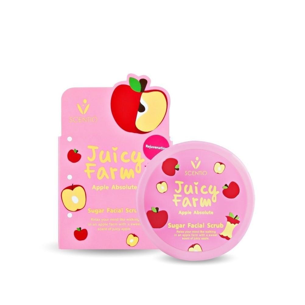 เซนทิโอ จูซี่ ฟาร์ม แอปเปิ้ล แอบโซลูท ชูการ์ เฟเชียล สครับ (100 G)