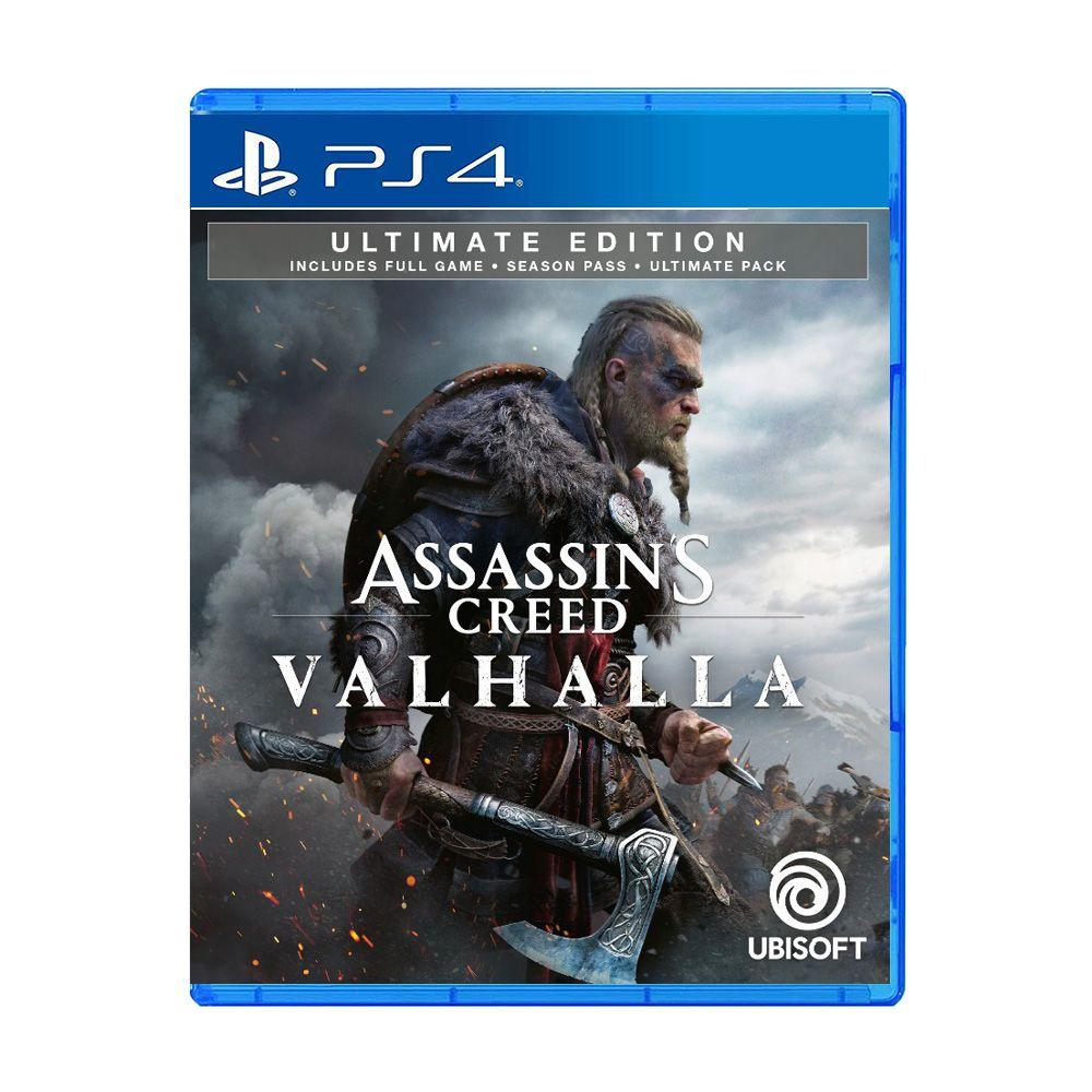 PS4 ASSASSIN'S CREED VALHALLA [ULTIMATE EDITION] (MULTI-LANGUAGE) (ASIA)