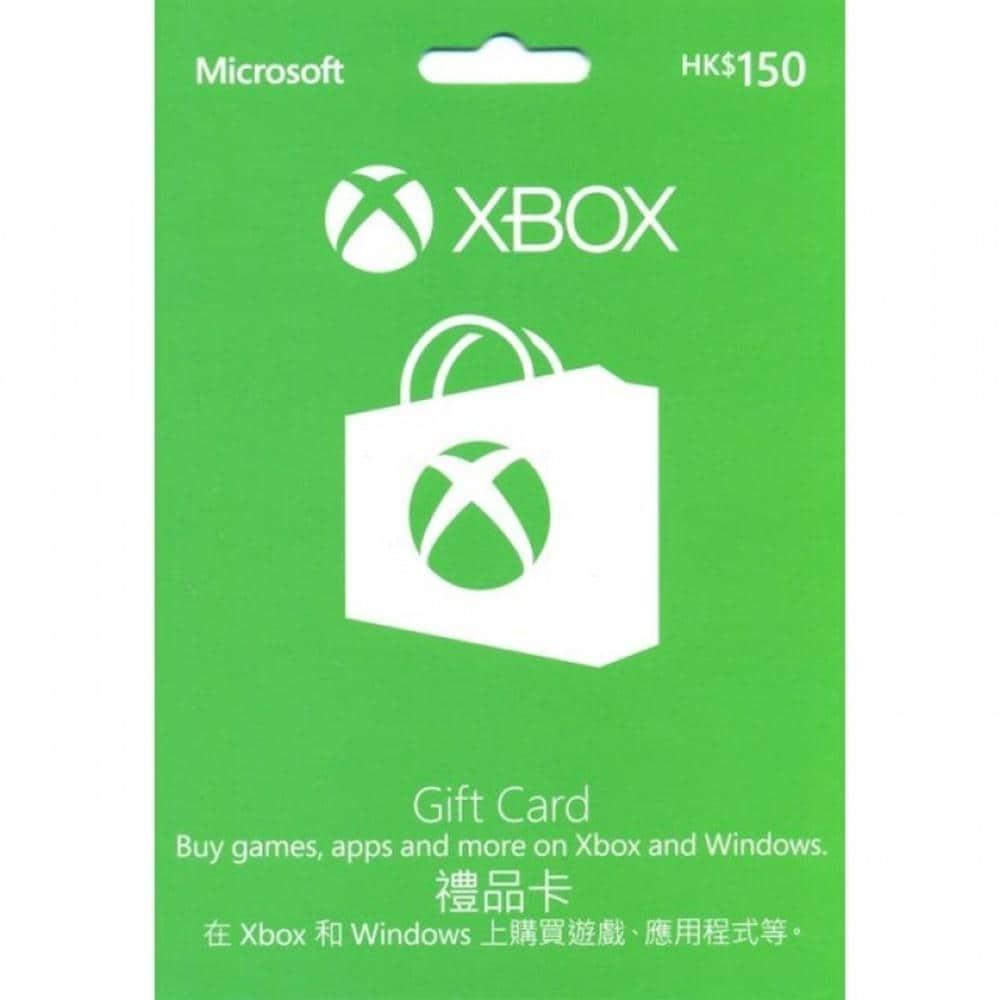 XBOX LIVE XBOX GIFT CARD (HKD 150) (ASIA)