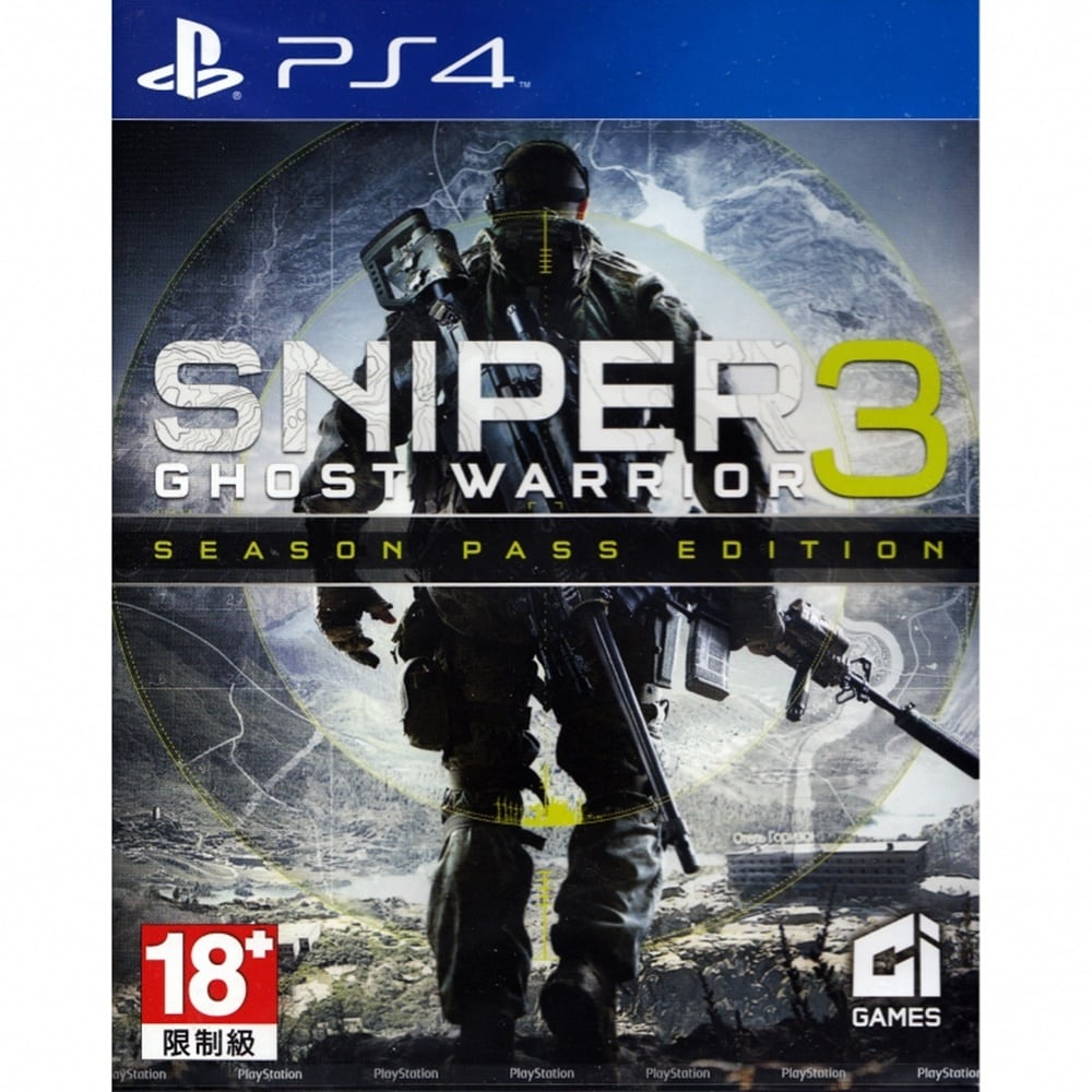 PS4 SNIPER: GHOST WARRIOR 3 (ENGLISH) (ASIA)