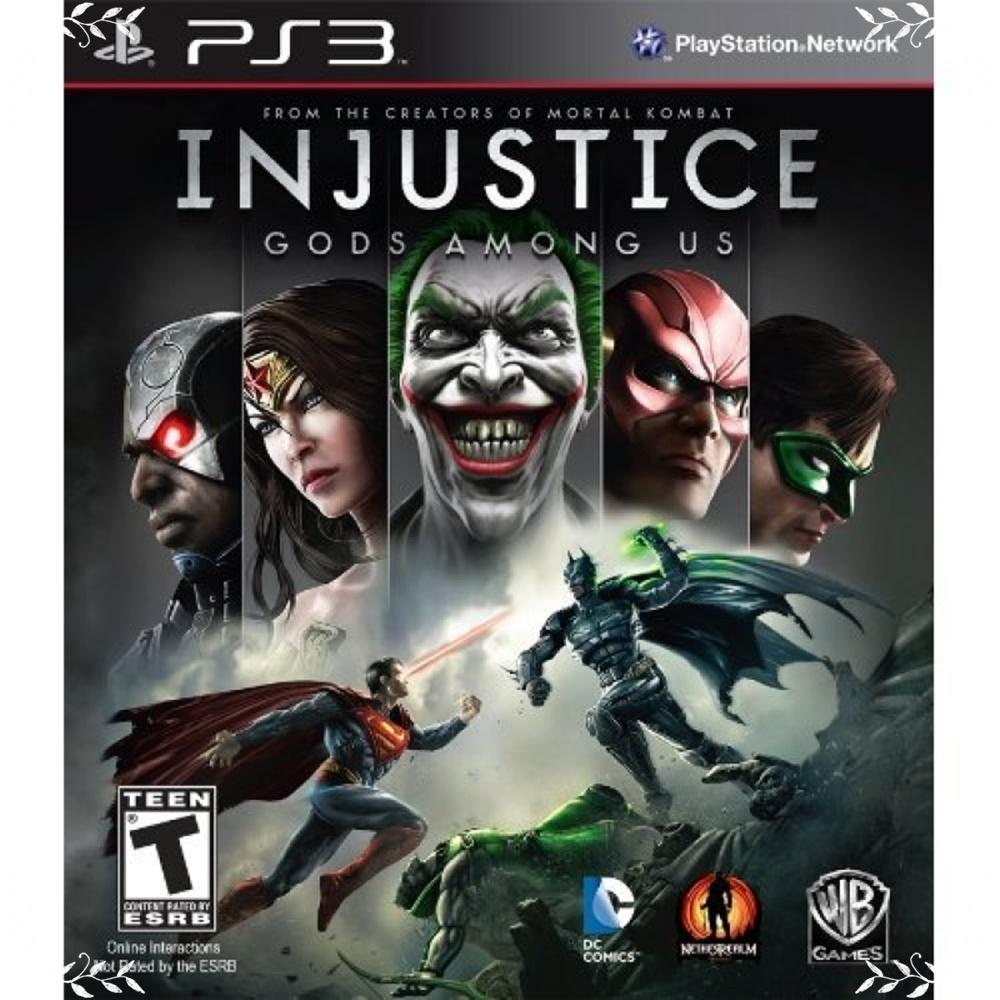 PS3 INJUSTICE: GODS AMONG US (US)