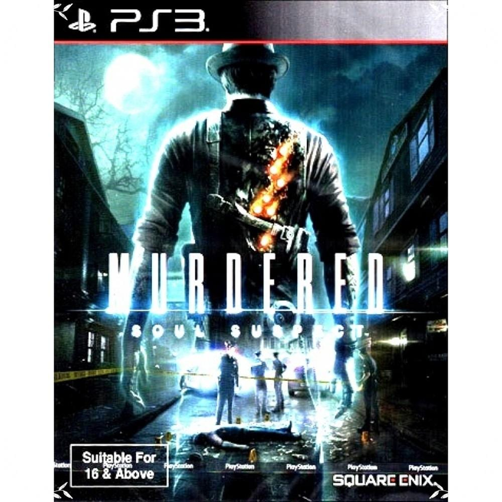 PS3 MURDERED: SOUL SUSPECT (ENGLISH) (ASIA)