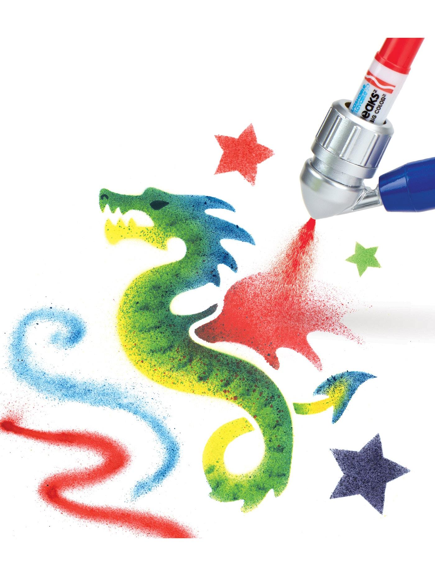 Crayola Air Marker Sprayer 04 6806 Size L Central Online