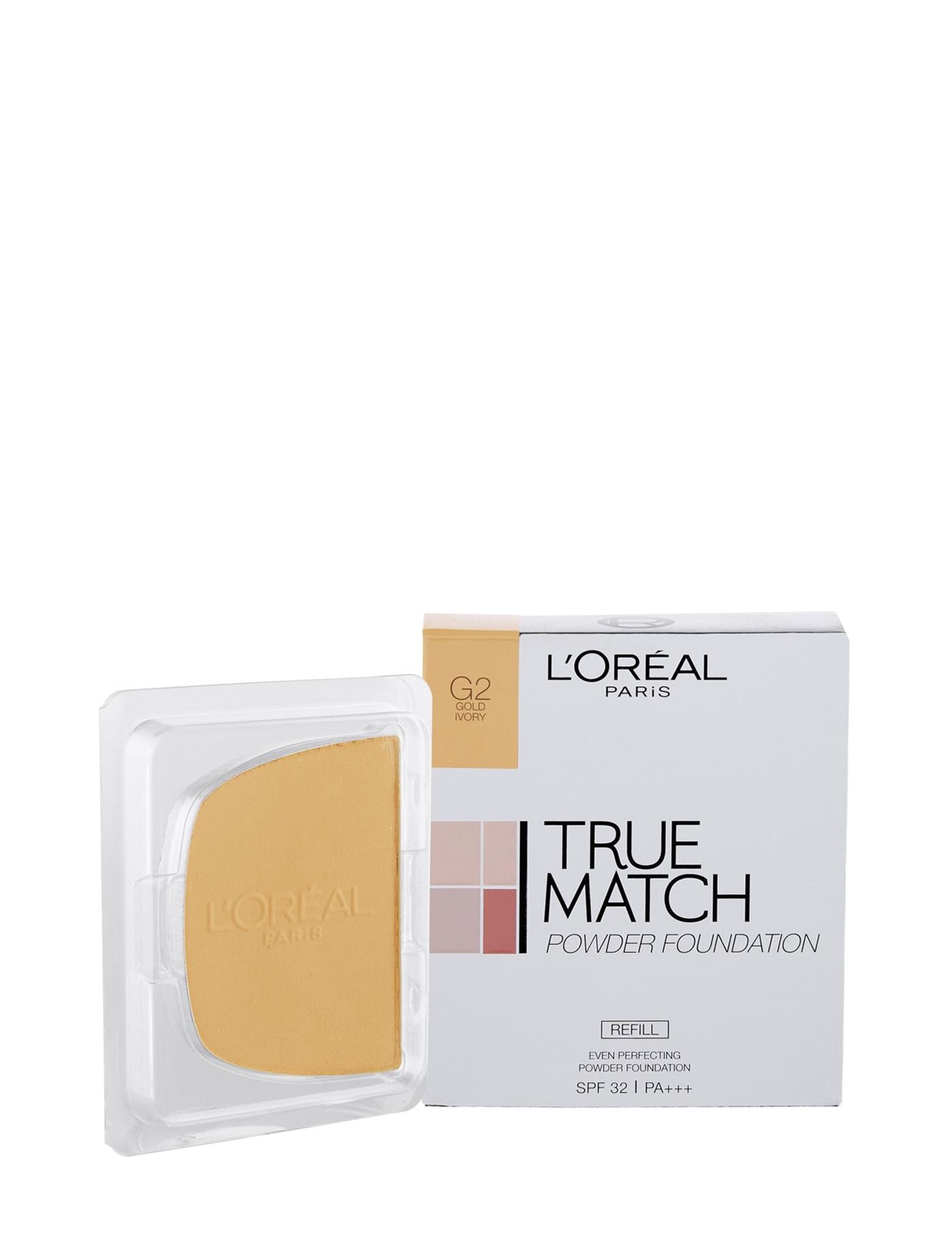 รองพื้นในรูปแบบรีฟิล True Match Even Perfecting Powder Foundation SPF32/PA+++ (Refill) G2 Gold Ivory