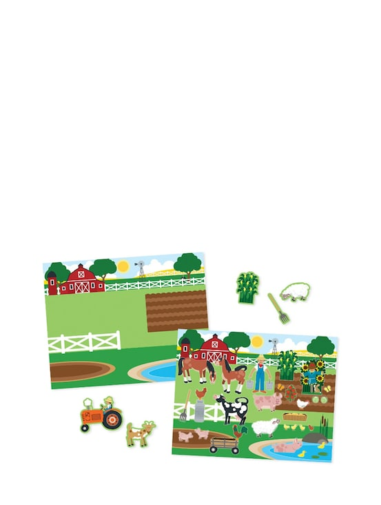 Melissa Doug Reusable Sticker Pad Habitats 4196 Central