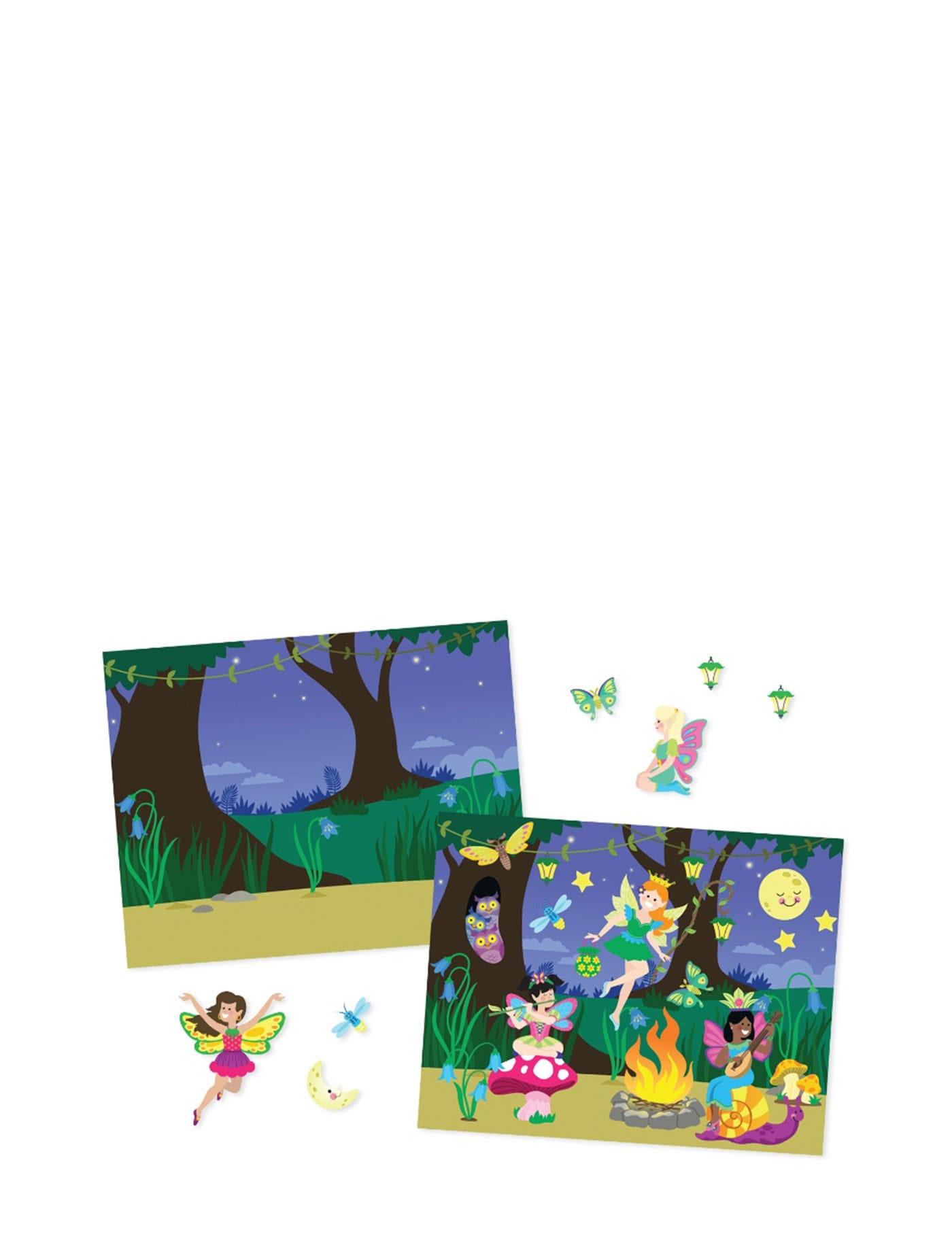Melissa Doug Reusable Sticker Pad Fairies 8603 Central
