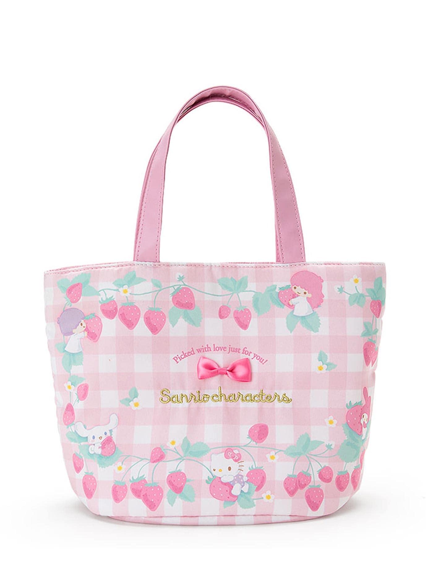 กระเป๋าถือ Sanrio Characters Strawberry สีหลากสี