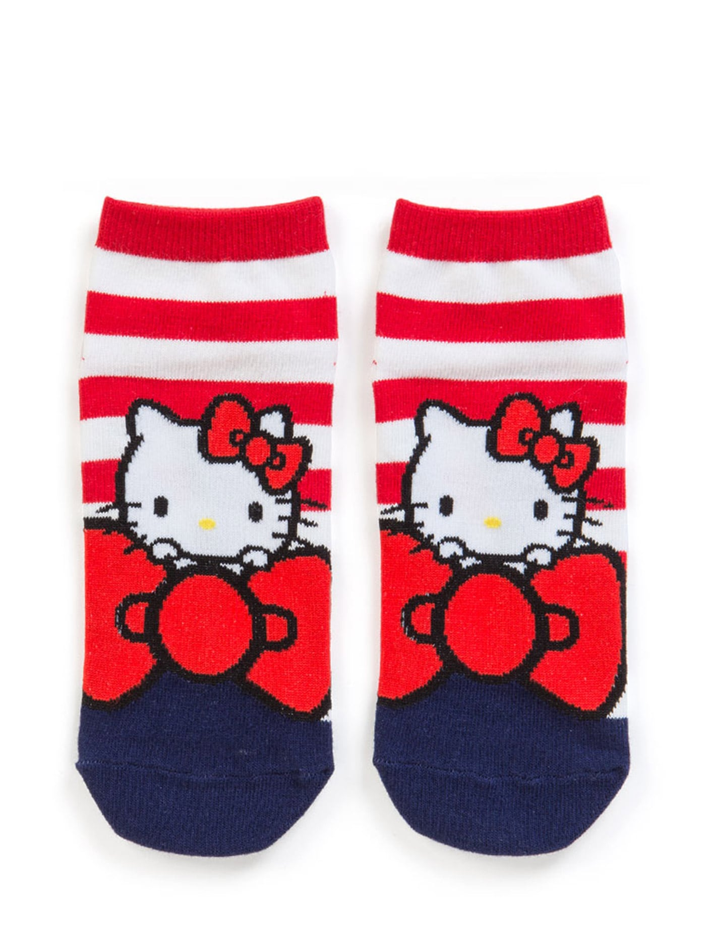 b02740c54 SANRIO HELLO KITTY SOCKS: ADULT BIG RIBBON KT 293059KT0218 Multicolor