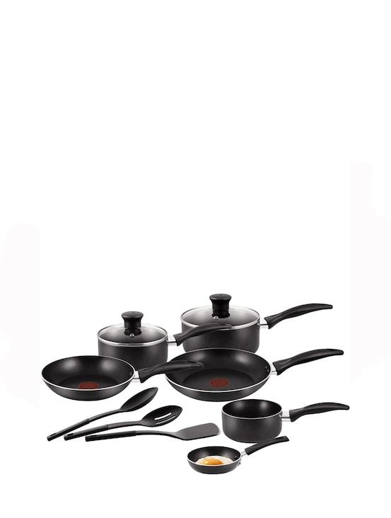 Easy Care 11-Piece Cookware Set A762S944 Black