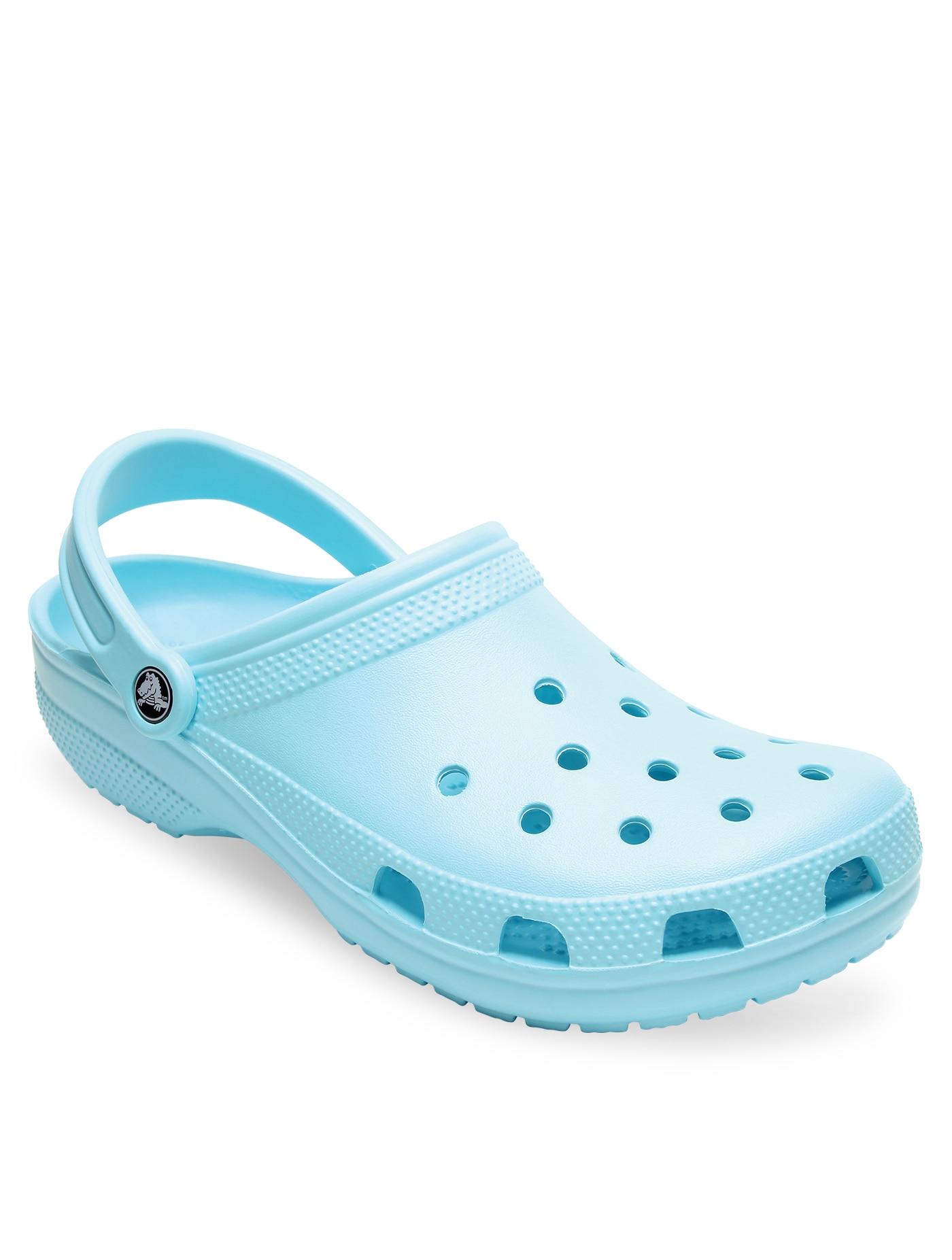 ogromny wybór najlepszy wybór dobra sprzedaż CROCS Unisex's Casual Shoes Classic Size M4/W6 Ice Blu ...