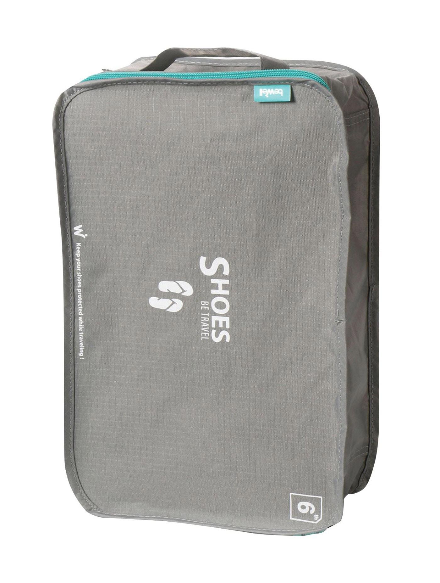 กระเป๋ารองเท้า รุ่น BWSHBT03 สีเทา