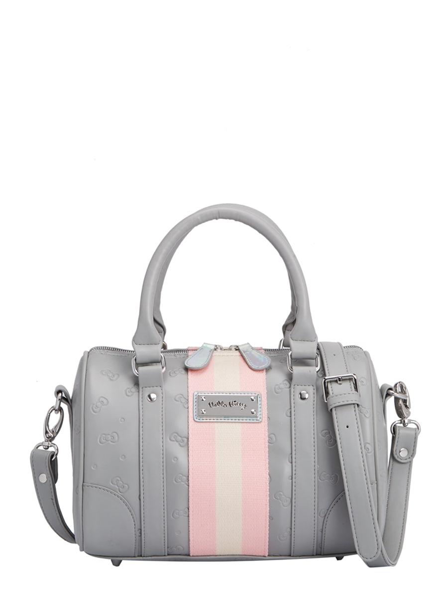 กระเป๋า Speedy Hello Kitty Hppn (S) ลายกราฟิก Limited Edition สีเทา