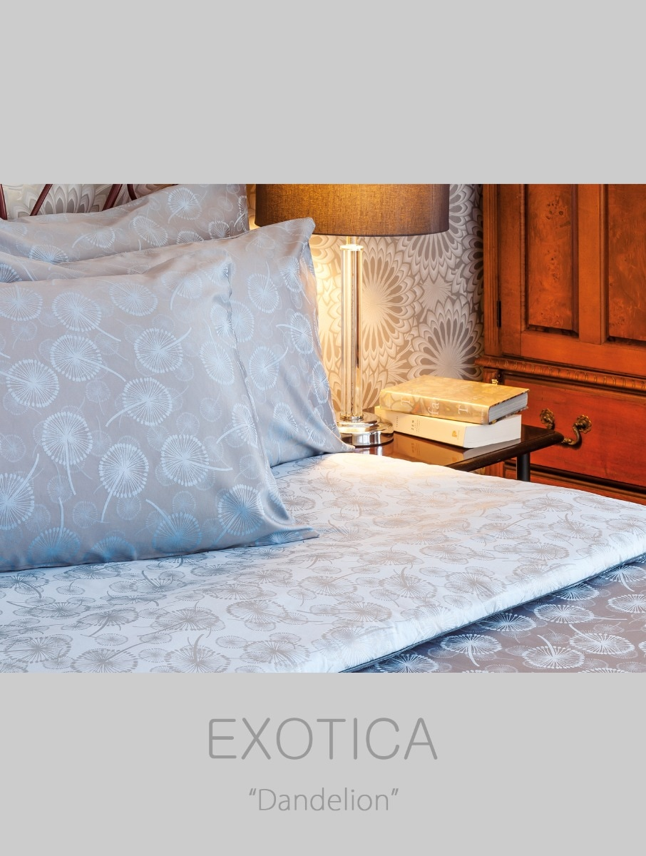 Exotica Quilt Cover Serge Blue Size Twin Central Co Th