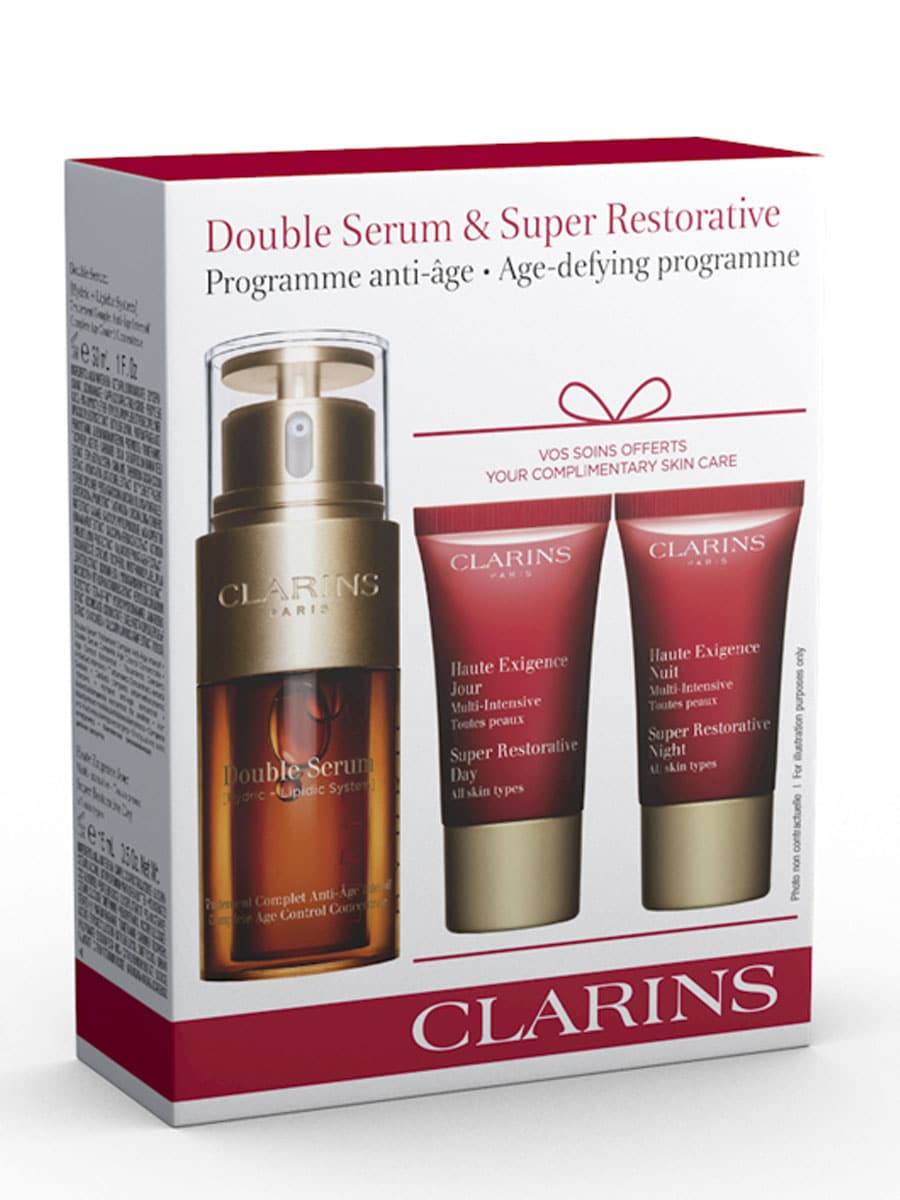 clarins skin care