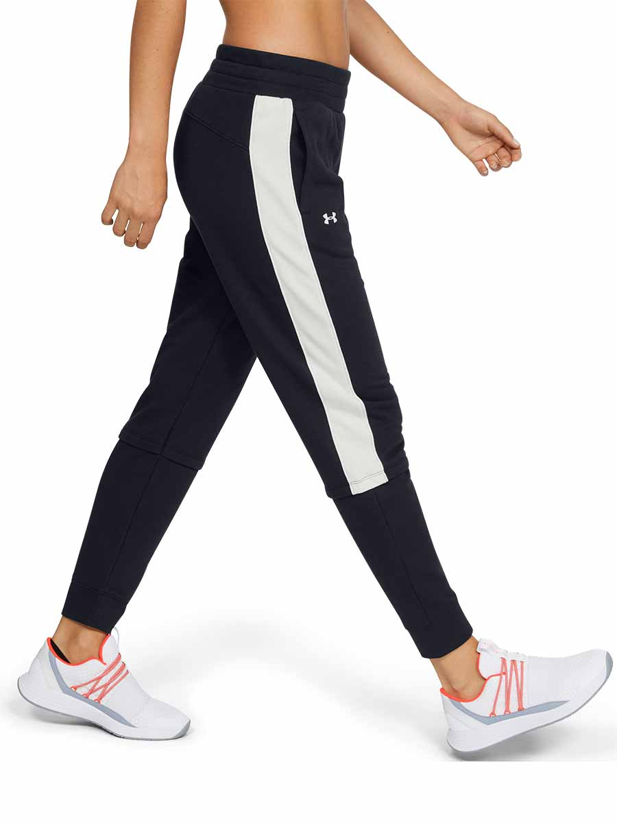 Under Armour Womens Tech Terry Jogging Pants Performance Tracksuit Bottoms
